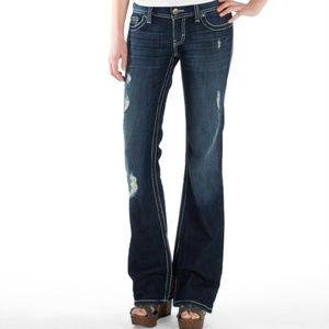 "BKE Stella flare jeans 25R / 31 1/2"" inseam"